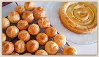サントノーレとシフォンケーキで卵を消費。 ◆ by アン@トルコ - BAYSWATER
