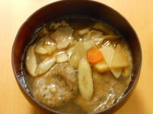 玄麻黄枇のすいとん - 食べて健康!健康食堂(がんちゃんと一緒)
