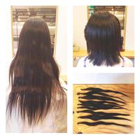 ヘアドネーションにご協力頂いたS様! - 東京都荒川区にある尾久駅前の美容室 WEST HAIR DESIGNのブログ