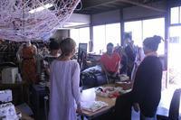 足袋作りワークショップ@ENGAWA SUMIDA - 直やのおうち・展示室
