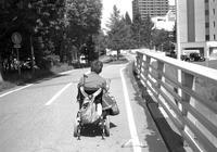 トングを持った車椅子と公開講座プラン - 照片画廊