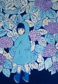 雷雨 - たなかきょおこ-旅する絵描きの絵日記/Kyoko Tanaka Illustrated Diary