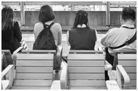 並んで座る - BobのCamera