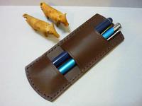 2本または1本用です - 手縫い革小物 paddy の作品箱