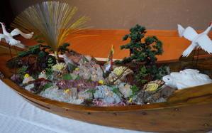 母の米寿のお祝い@鳥羽 - ミンミンゼミ