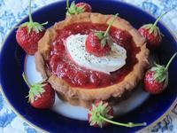 苺ジャムのタルト - やせっぽちソプラノのキッチン2