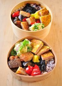 ピカタ弁当 - 家族へ 健康弁当