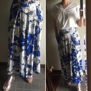 ZARAワイドフレアパンツ→ロングスカートに。 - 日日是うすべに色