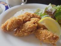 広島産カキフライ:くれそん(弘前市) - 津軽ジェンヌのcafe日記