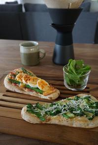デルソーレ「ブランナン」で2種のカフェ風ナントースト - そらたび