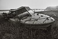 置き去りのクルーザー(走水漁港) - 写真で残す都筑の風景