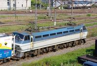 5/20東京タにて1066レのコキとコンテナ - 急行越前の鉄の話
