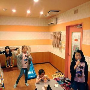日本滞在記 カラオケ&焼肉 - Lina と いっしょに、 Luka も いっしょに