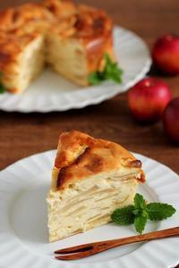 林檎&クリームチーズのガトーインビジブル - Takacoco Kitchen