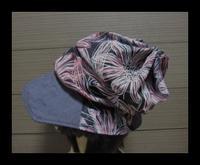 残り布の帽子 - ひだまり●●●陽のあたる場所みつけました