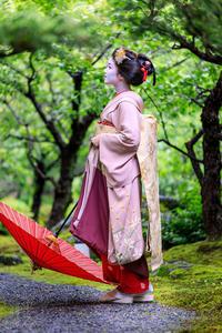 先笄・青葉の頃(上七軒 勝奈さん) - 花景色-K.W.C. PhotoBlog