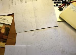 漫画のプロセスで一番苦しいのは - ヤマザキマリ・Sequere naturam:Mari Yamazaki's Blog