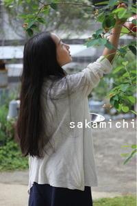 彼女の長い黒髪で - sakamichi