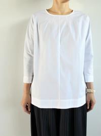 SOPHIE C-NECK P/O SHIRT - 『Bumpkins putting on airs』