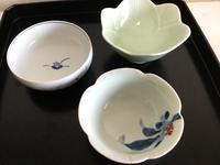アンティーク小鉢三種 - 大正から昭和の器