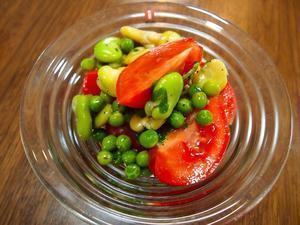 そら豆のグリーンサラダ - sobu 2