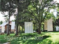 Mother's Quilt キルト展準備 - KAKI CABINETMAKER