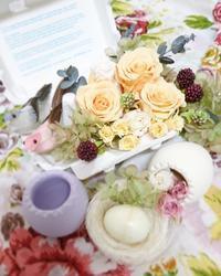 Spring Easter Flower - スタジオ オルネ ドゥ フルール *私のしあわせ…*
