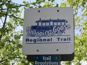 ヴィクトリアひとり旅☆Galloping Goose Trail を通ってSwan Lakeへ - よく飲むオバチャン☆本日のメニュー