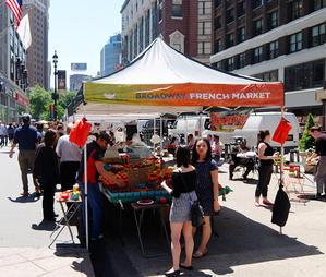 ブロードウェイ・フレンチ・マーケット Broadway French Market - ニューヨークの遊び方