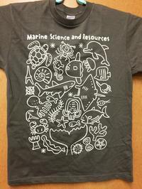 N大学 海洋生物資源科学科Tシャツ - うおろぐ3