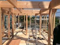 裾野市佐野 パッシブソーラーシステムそよ風と無垢と珪藻土で建てる自然素材の家 上棟編パート2 - 家造りブログ