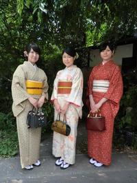 落ちついたお着物姿でまずは嵐山でランチ。 - 京都嵐山 着物レンタル&着付け「遊月」