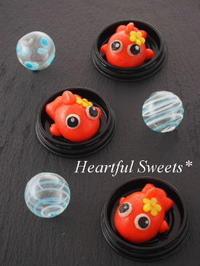 金魚の練りきり。・* - Heartful Sweets