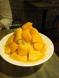 早速マンゴーを食べに…緑豆蒜啥咪へ  - mayumin blog 2