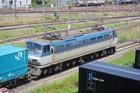 リニア残土輸送用コンテナ積載!5/20東京タにて4072レのコキとコンテナ - 急行越前の鉄の話