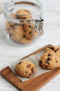 しほさんの「チョコとココナッツのクッキー」とホップス - Takacoco Kitchen