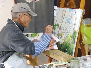 油絵 ~ 三渓園 ~ - 鎌倉のデイサービス「やと」のブログ
