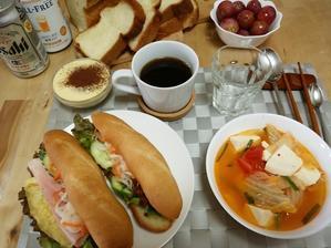 5月24日の教室 - 手作りパン・料理教室(えぷろん・くらぶ)