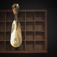 真鍮の靴べらとマクラメバッグ - 雑貨店PiPPi