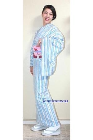 今日の着物コーディネート♪(2017.5.24)~セオα浴衣&アンティーク名古屋帯編~ - 着物、ときどきチロ美&チャ美。。。お誂えもリサイクルも♪