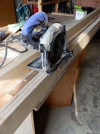 風除け対策・・庭出入り口扉の製作・設置 Part-1 - あいやばばライフ