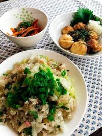明石焼き/レタスのチャーハン - Lammin ateria