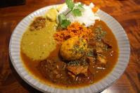石川(野々市市):スパイスカレーカフェ・コッタ(spice curry cafe KOTTA) 「スリランカプレート」 - ふりむけばスカタン