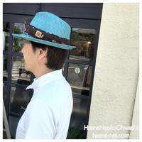 オーダー 柄シゾールの帽子 サイズのお直し   - オーダーメイド帽子店と帽子教室 ハスナショップクチュリエ&手芸教室とギフト雑貨 Paraiso~パライーゾ楽園 Blog