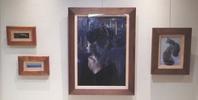 《 北原順子油絵展 〜Dignity〜》2日目 - およぐ、ジュゴン!