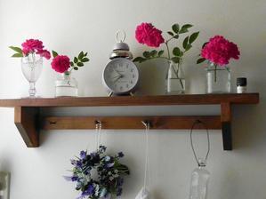 花を飾る&お庭訪問NO1 - 心とカラダが元気になるアロマ&ハーブガーデン教室chant rose