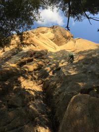 瑞牆山 カンマンボロン(5月19日、22日) - ちゃおべん丸の徒然登攀日記