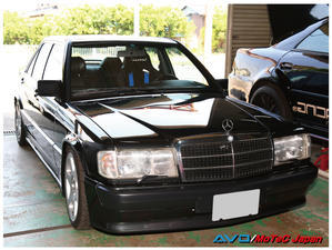 メルセデス ベンツ 190E 2.3-16 - AVO/MoTeC Japanのブログ(News)