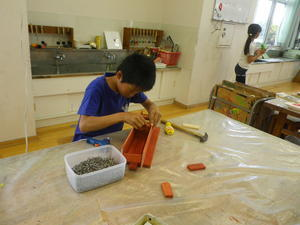 木材で作ったよ - 大島町立つつじ小学校