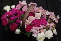 シャルル・ド・ミルの籠盛りと白くなってきたウエディングデイ - Reon&Roses+Lara